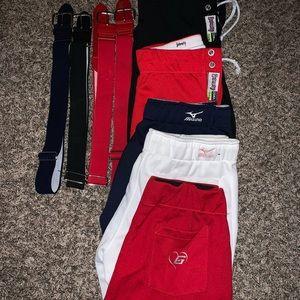 Pants - Softball Pants & Belts